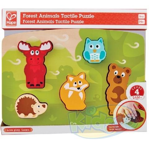 HAPE-FOREST ANIMAL TACTILE PUZZLE