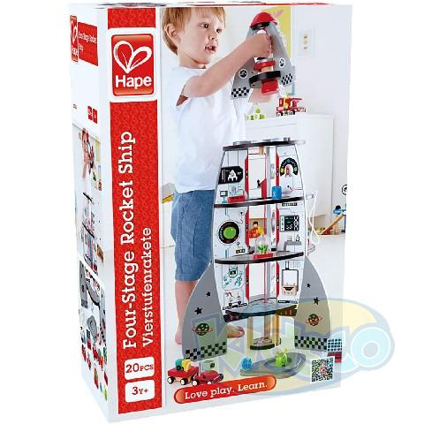 HAPE-FOUR-STAGE ROCKET SHIP
