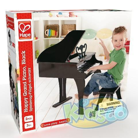 HAPE-HAPPY GRAND PIANO,BLACK