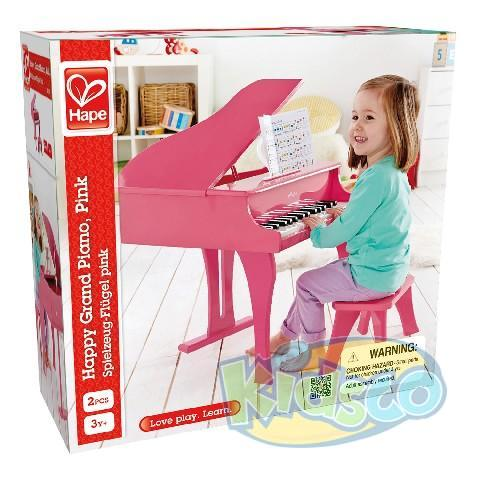 HAPE-HAPPY GRAND PIANO,PINK
