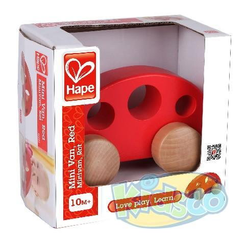 HAPE-MINI VAN,RED
