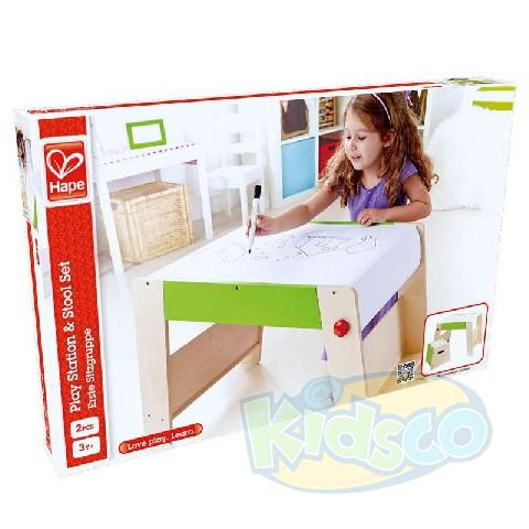 HAPE-PLAY STATION & STOOL