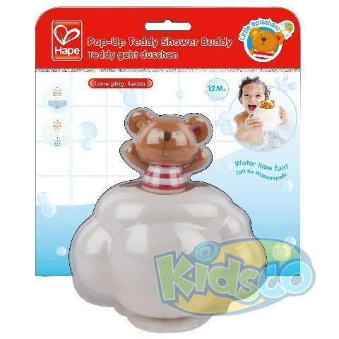 HAPE-POP-UP TEDDY SHOWER BUDDY