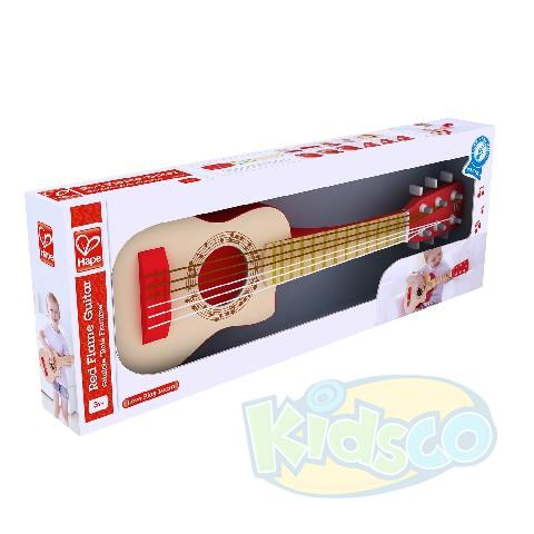 HAPE-RED FLAME GUITAR