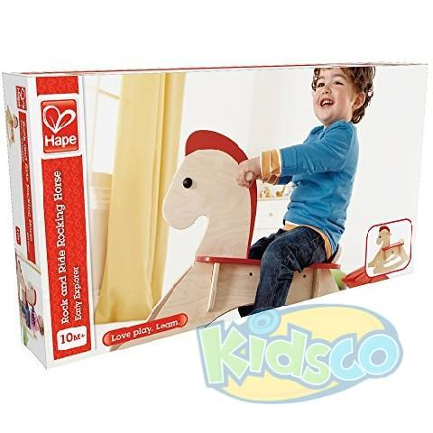 HAPE-ROCK AND RIDE ROCKING HOR