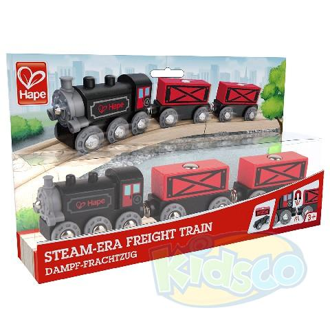 HAPE-STEAM-ERA FREIGHT TRAIN