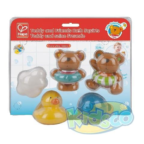 HAPE-TEDDY AND FRIENDS BATH