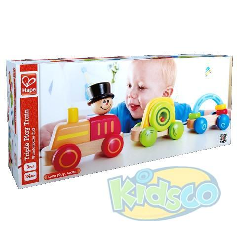 HAPE-TRIPLE PLAY TRAIN