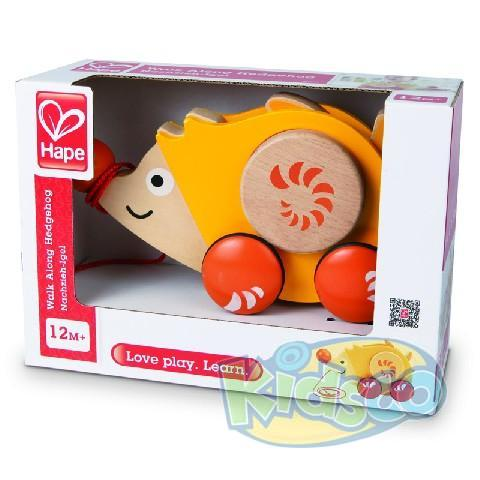 HAPE-WALK-A-LONG HEDGEHOG