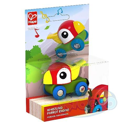 HAPE-WHISTLING PARROT ENGINE