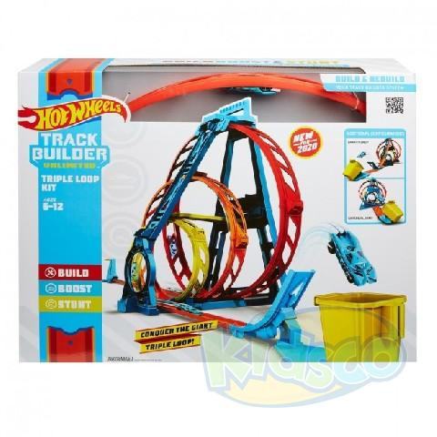 "Hot Wheels Set ""Bucla Tripla"""