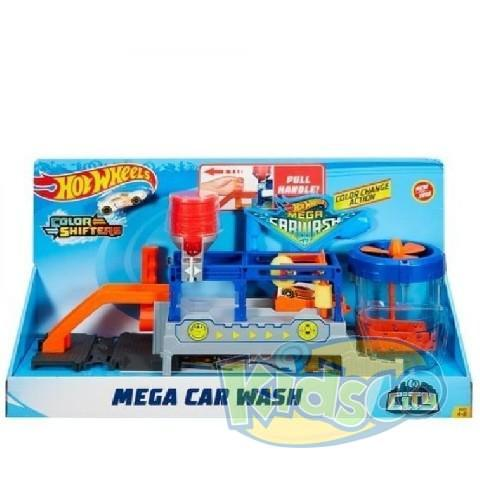 "Hot Wheels Set ""Mega Car Wash"""