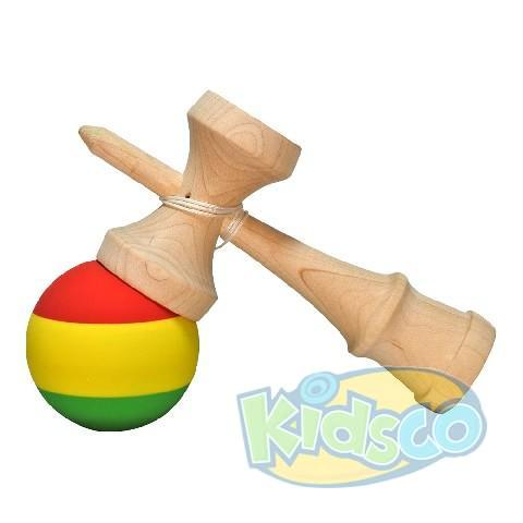 Kendama Krom Rasta Premium Maple-Rubber