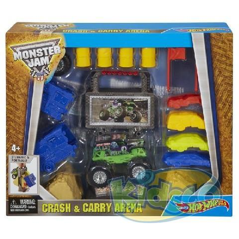 Mattel HW Monster Jam Crash & Carry Arena