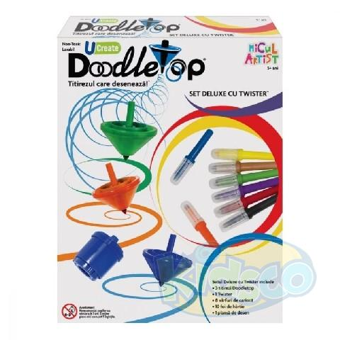 Micul Artist - Doodletop Twister Deluxe Kit