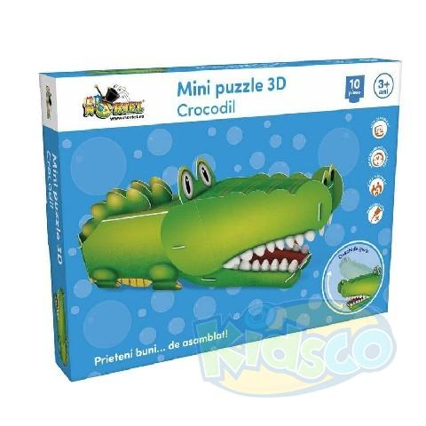 Mini Puzzle 3D Crocodil