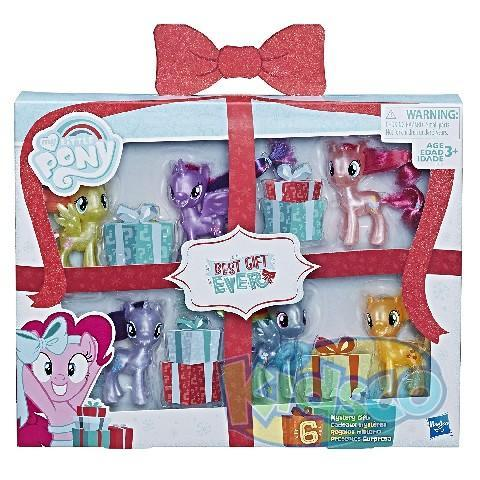 MLP BEST GIFT EVER MANE 6 COLLECTION PK