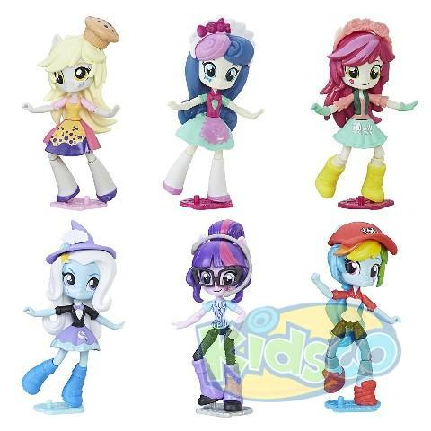 "My Little Pony Equestria Girls Minis ""Papusa cu microfon"""