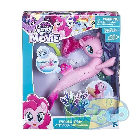 MLP MOVIE PINKIE PIE SWIMMING SEAPONY