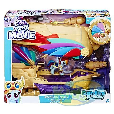 MLP SOARING SWASHBUCKLER PIRATE AIRSHIP