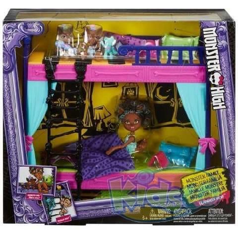 Monster High Family Bunk Bed