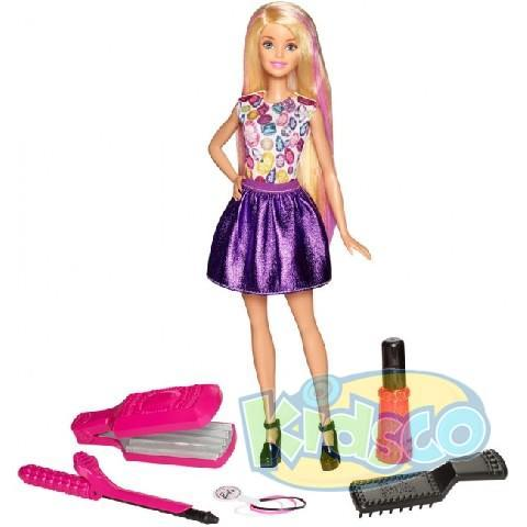 "Papusa Barbie ""Crimps & Curls Doll"""