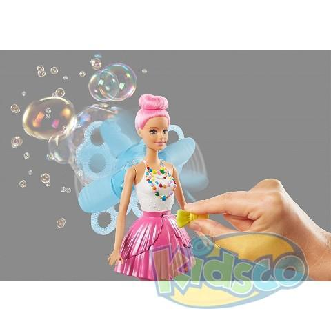 "Papusa Barbie ""Magical Fairy Bubbles"" ast"