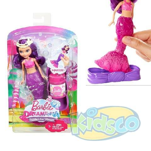 "Papusa Barbie ""Magical Mermaid Bubbles"" ast"