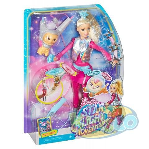 "Papusa Barbie with Pet ""Star Light Adventure"""