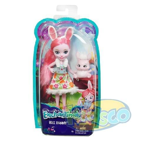 Papusa Enchantimals Bree Bunny