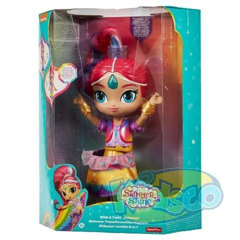 Papusa Interactiva Shimmer&Shine ast