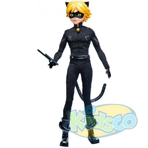 "Papusa ""Lady Bug"" - Cat Noir seria Deluxe (26cm,13 artic)"