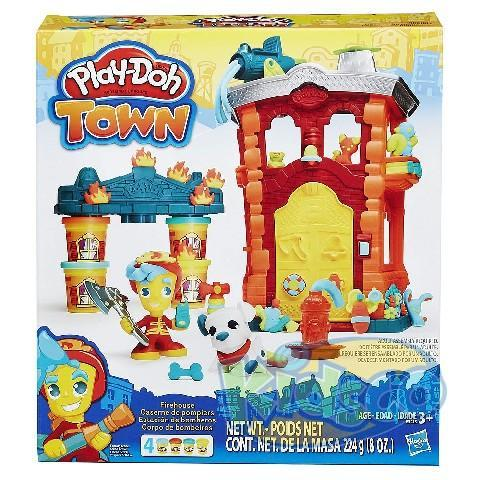 PD PLAYDOH TOWN FIREHOUSE