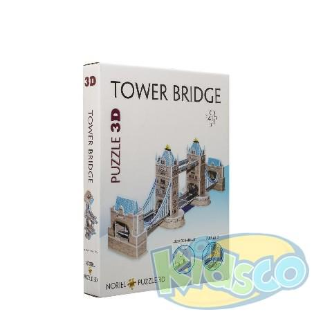 Puzzle 3D Cladiri Faimoase din lume  TOWER BRIDGE