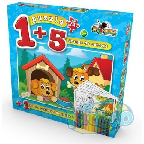 PUZZLE COLOREAZA-MA 24 PCS 2