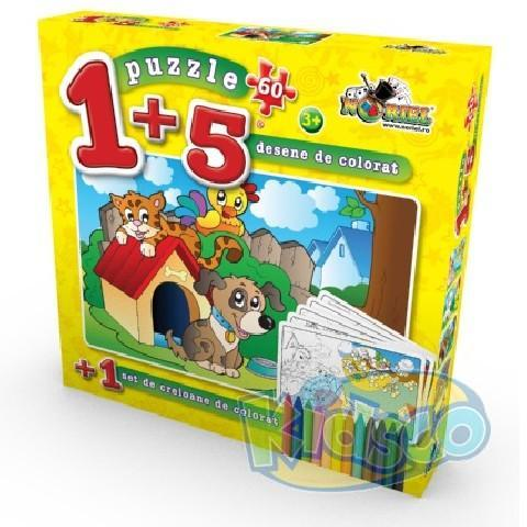 PUZZLE COLOREAZA-MA 60 PCS 1
