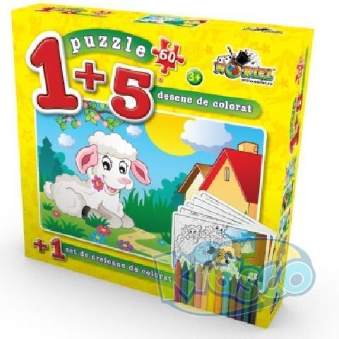 PUZZLE COLOREAZA-MA 60 PCS 2
