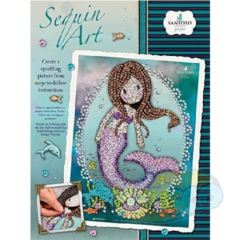 SEQUIN ART GORJUSS - SO NICE TO SEA YOU
