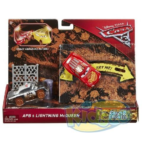 "Set 2 Eroi ""Cars 3"" seria ""Crazy Crashers"" ast"