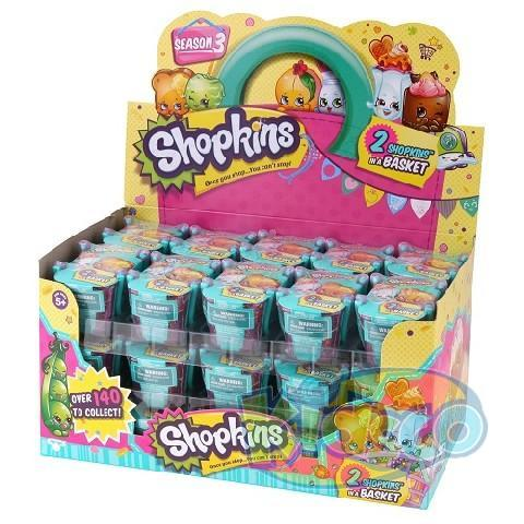 Set 2 figurine Shopkins S3