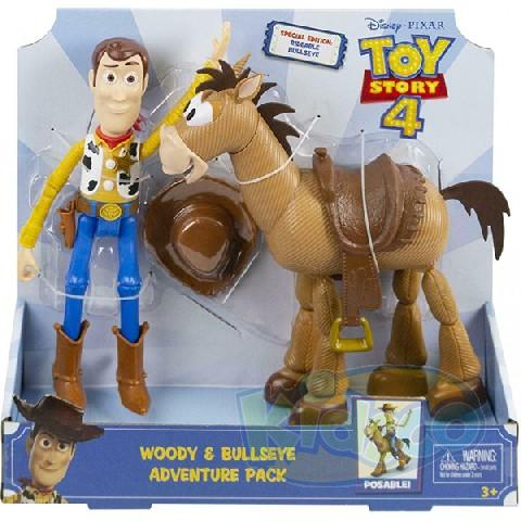 "Set 2 figurine ""Toy Story"" asort."