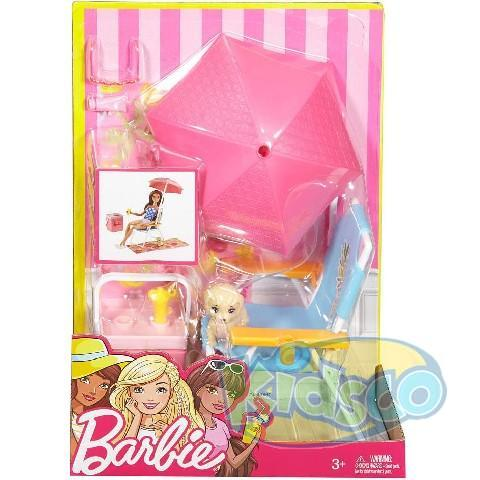 Set Barbie Mobilier pt Picnic ast
