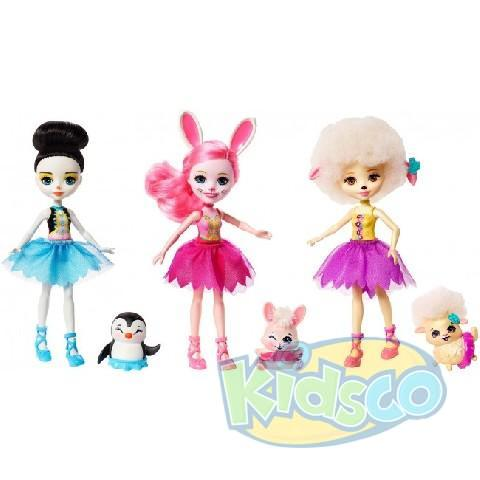 "Set Enchantimals ""Ballet Cuties Doll"""