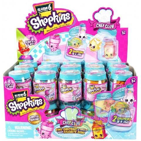 Set Figurine Shopkins borcan S6