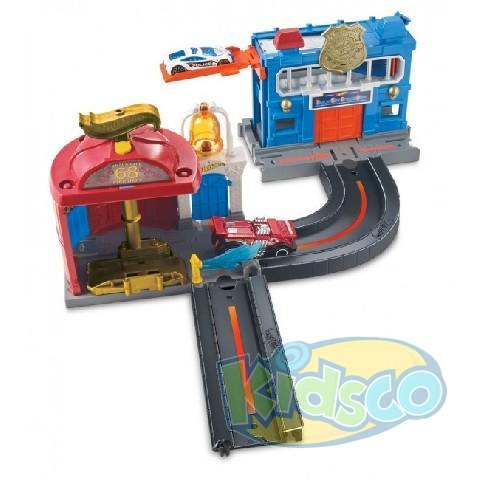 Set Piste Hot Wheels ast