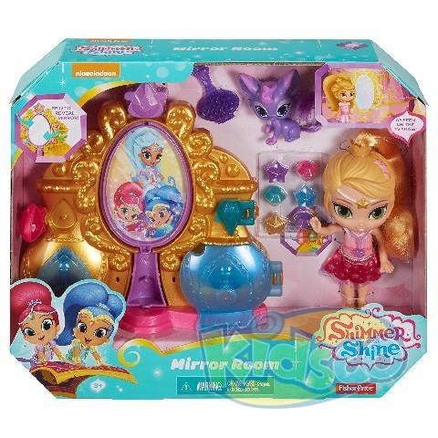 "Set ""Shimmer and Shine"" Mirror Room"