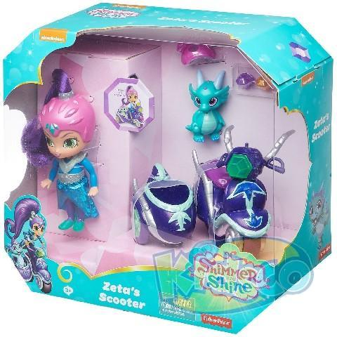 "Set ""Shimmer and Shine"" Zeta's Scooter"