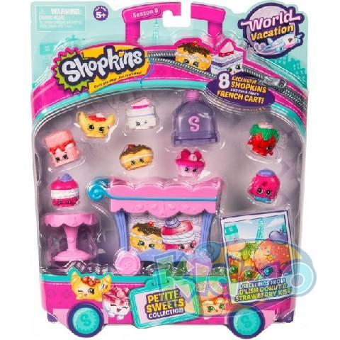 "Set Shopkins S8 ""French Cart"" ast"