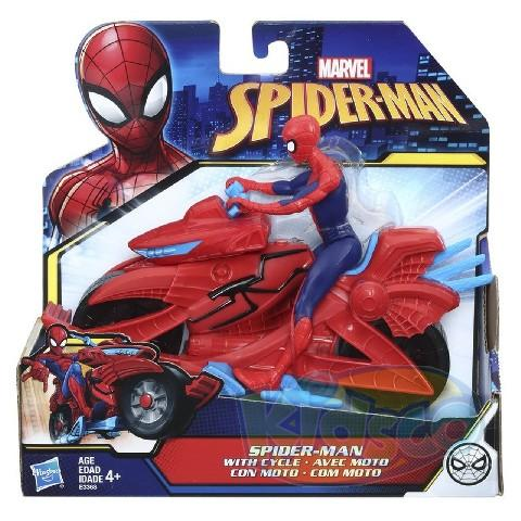 SPD SPIDERMAN WITH CYCLE