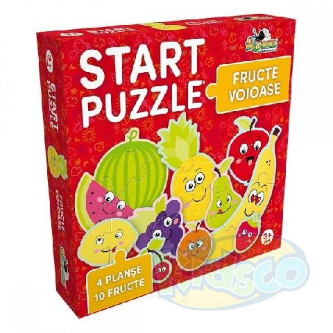 Start Puzzle 4 in 1-Fructe voioase (2017)